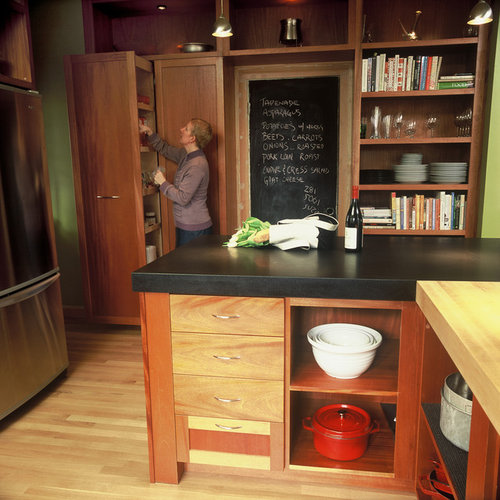 pantry kitchen cabinets chalkboard countertop home design ideas pictures remodel 1412