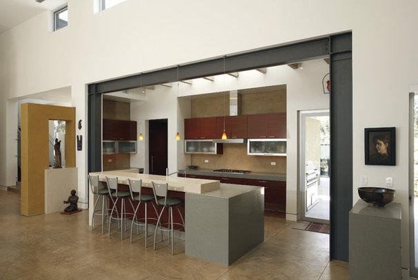 Contemporary Kitchen by Equinox Architecture Inc. - Jim Gelfat