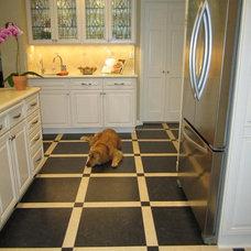 Traditional Kitchen by Erika Bruder Interior Design LLC