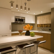 Contemporary Kitchen by Studio Santalla, Inc