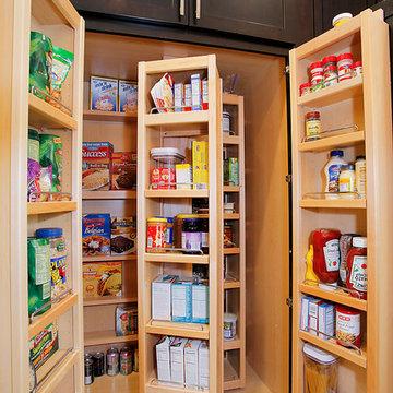 Kitchen - Espresso Cabinets