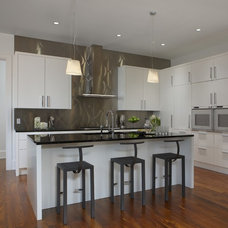 Contemporary Kitchen by EuroCraft Interiors Custom Cabinetry