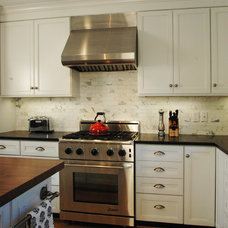 Eclectic Kitchen by Merrick Design and Build Inc.
