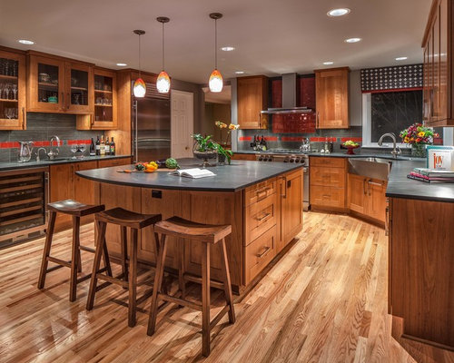 Best Natural Red Oak Floor Design Ideas & Remodel Pictures | Houzz