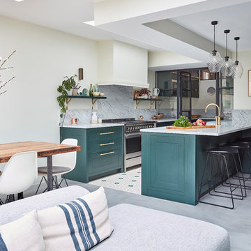Kitchen extension and pantry with Blakes London