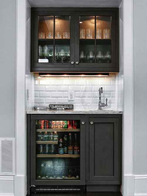 Beverage Bar Home Design Photos