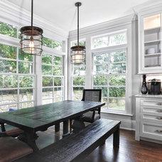 Traditional Kitchen by DeRosa Builders LLC