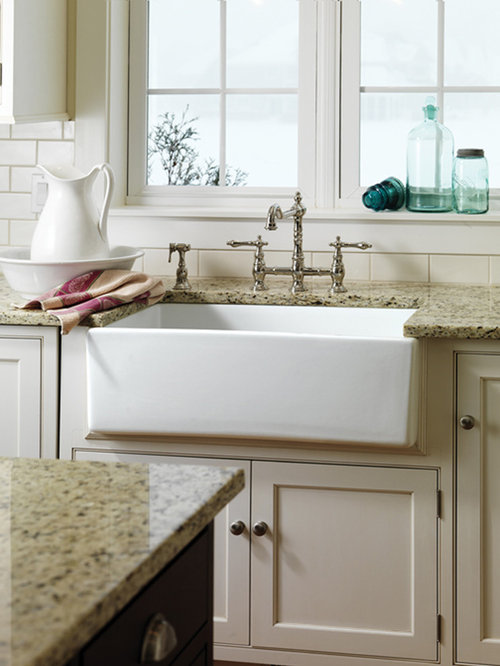 Best Farm House Sink Design Ideas & Remodel Pictures | Houzz on Farmhouse Kitchen Sink Ideas  id=48575