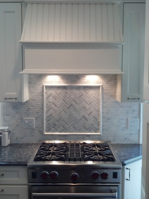 Honed Marble Backsplash Houzz