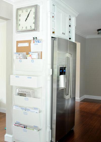 Transitional Kitchen by Jenna Burger Design