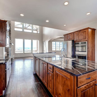 Kitchen featuring upgraded appliances