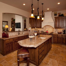 mediterranean kitchen by Finishing Touches Interior Design