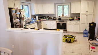 Kitchen Flooring and Backsplash