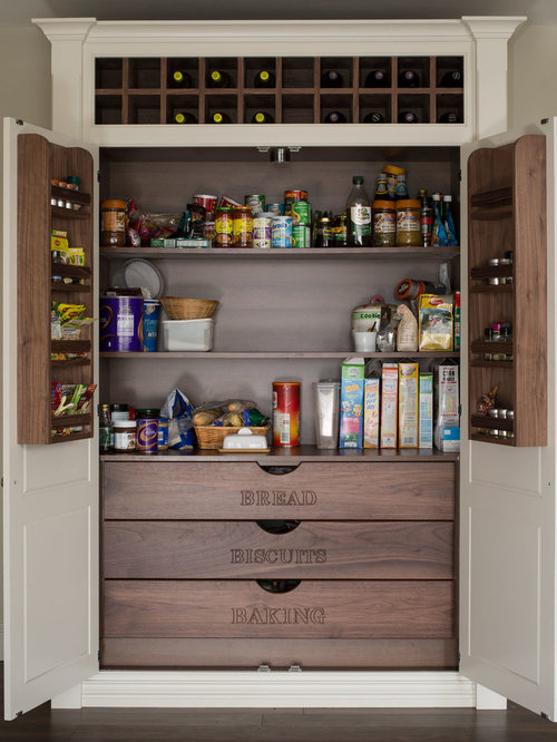 Built In Pantry | Houzz