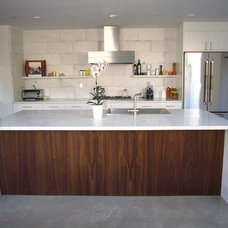 Contemporary Kitchen by W. Gibson & Co.