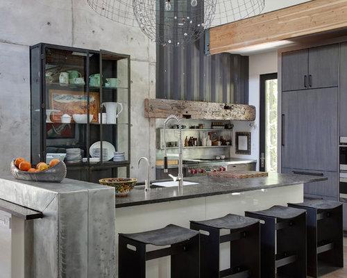 Images de d coration et id es d co de maisons industrial for Maison classique emporium