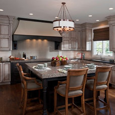 Traditional Kitchen by Fredman Design Group