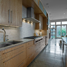 Contemporary Kitchen by Fredman Design Group