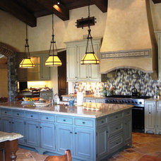 Mediterranean Kitchen by Kevin Martin