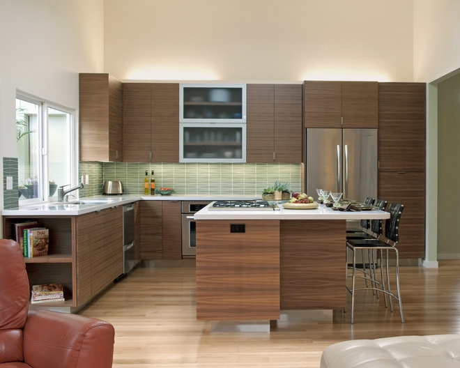 Contemporary Kitchen by Danielle Grenier
