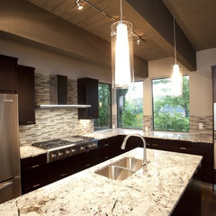 contemporary kitchen by FrontPorch