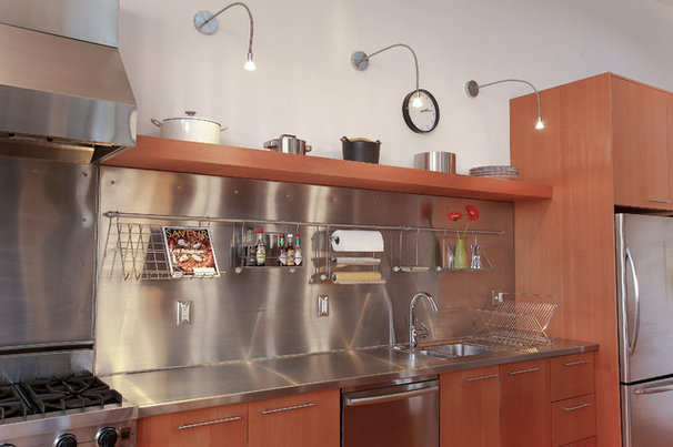 Industrial Kitchen by Full Circle Design Works, Inc