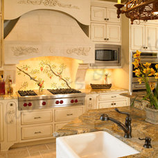 Tropical Kitchen by E3 Cabinets & Design