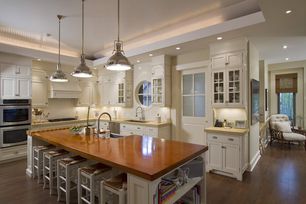 American Traditional Kitchen by Gallin Beeler Design Studio