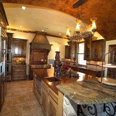 Traditional Kitchen by Michael Garabedian