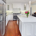 New 5131 Calacatta Nuvo - Transitional - Kitchen - Toronto - by Caesarstone