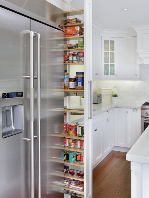 Vertical Pullout Storage | Houzz