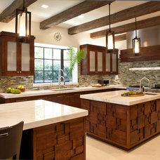 Contemporary Kitchen by Gordon Gibson Construction