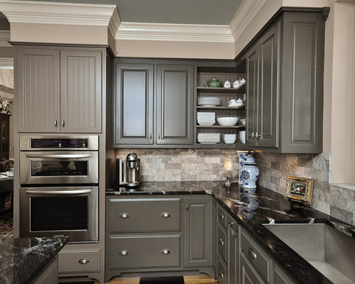 Dark Gray Cabinet Ideas, Pictures, Remodel and Decor