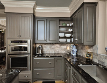 Kitchen - Gray on Gray
