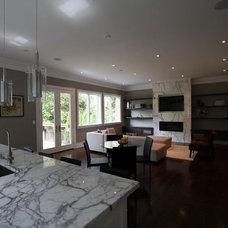 Contemporary Kitchen by Jodie Rosen Design