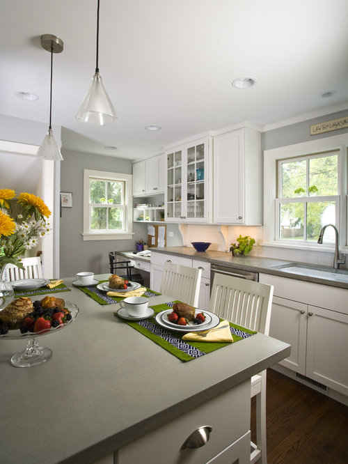Grey Walls In Kitchen grey walls | houzz