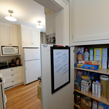 Kitchen/hall/mudroom renovation in small 1930 Colonial