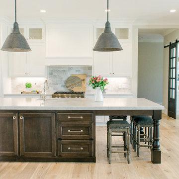 Kitchen   Hallmark Floors Alta Vista, Malibu French Oak, Heather Petersen Design