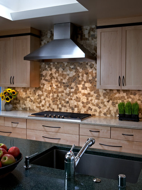 kitchen counter top designs best pebble mosaic design ideas amp remodel pictures houzz 4300