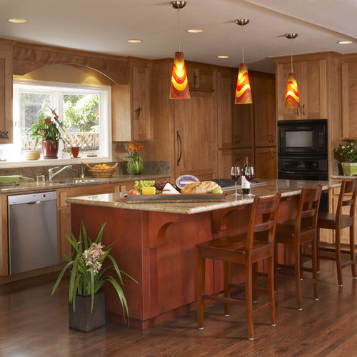 kitchen pendant lighting ideas houzz. Black Bedroom Furniture Sets. Home Design Ideas