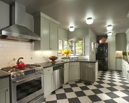 checkered marmoleum | houzz