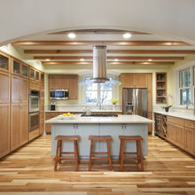 Natural Cherry Cabinets