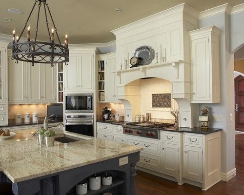 ivory cabinets houzz. Black Bedroom Furniture Sets. Home Design Ideas