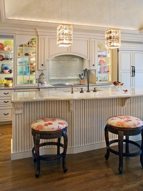 Panel Front Refrigerator Home Design Ideas Renovations Photos