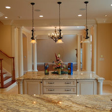 Traditional Kitchen by Hibler Design Studio