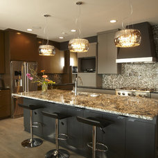 contemporary kitchen by Highmark Builders