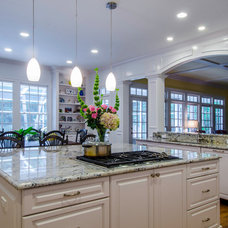 Transitional Kitchen by Ramos Design Build Corporation - Tampa