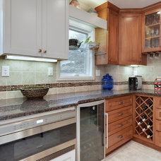 Transitional Kitchen by Hometown Building/Intercept