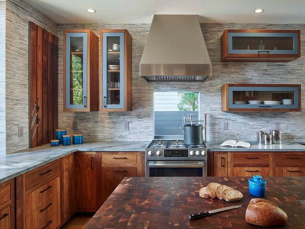 Contemporary Kitchen by Marina Rubina, Architect