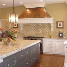 Traditional Kitchen by Hoskins Interior Design